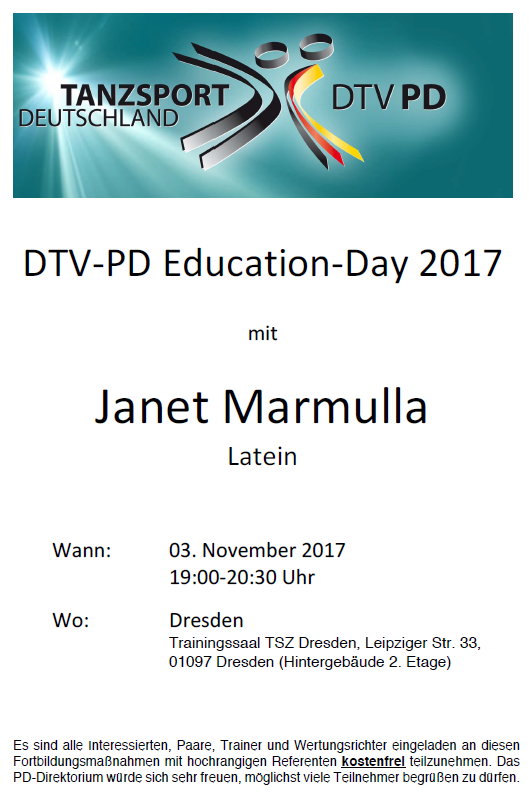 DTV-PD Education Day 03112017